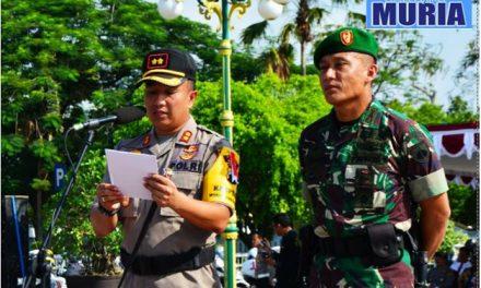 Dandim 0721/Blora Dan Kapolres Kompak , Pimpin Apel Sinergitas TNI, Polri.