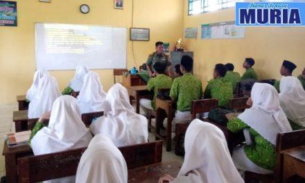 Kodim 0716/Demak Sosialisasi Penerimaan calon Prajurit TNI   di MA NU Demak