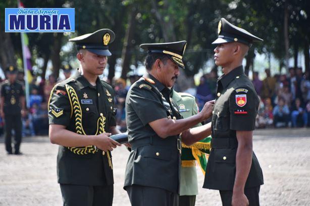 359 Calon Prajurit Tamtama TNI AD  Dilantik , Prada Khoirul Umam Asal Demak Lulusan Terbaik Secata Gombong