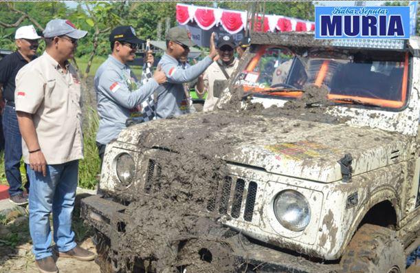 Meriahkan hari Jadi Demak , Kalijaga Jip Comunity Demak Gelar  Off-roader Jeep Adventure