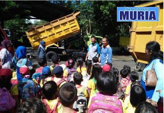 DLH Salatiga Sosialisasikan Budaya Hidup Bersih di SBB Paud Pelangi Nusantara 10
