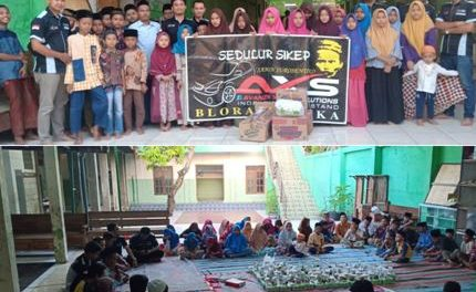Ramadhan Berkah : AXS Blora Mustika Berbagi Di  Panti Asuhan Darul Hadlonah Blora