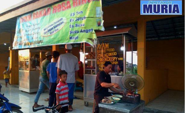 """Depot """" Rosa Rinsa """" Pasar Kuliner Kedungmutih Demak, Sedia Ayam Bakar ,Goreng,Crispy"""