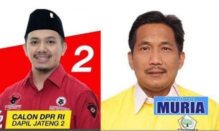 Di Jepara Suara Gilang Tertinggi dan Bowo dapat 4.117 suara.