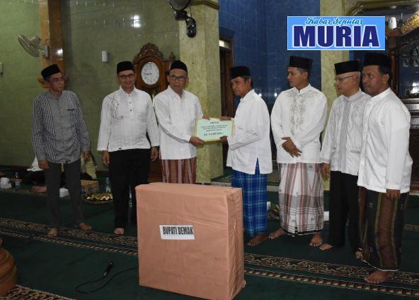 Safari Ramadhan Bupati Demak di Masjid Darussalam Desa Katonsari