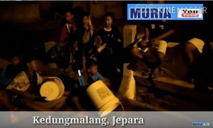 Di Kedungmalang Jepara , Ada Thong Thek Pembangun Sahur Keliling Kampung