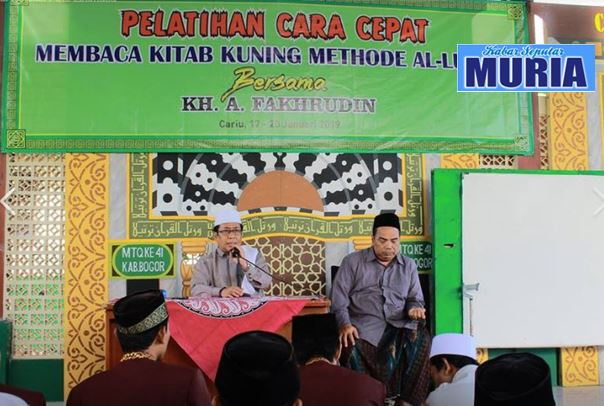 Ustadz A.Fakhrudin Demak Keliling Indonesia , Mendiklat Santri dan Guru 6 Jam Bisa Baca Kitab Kuning