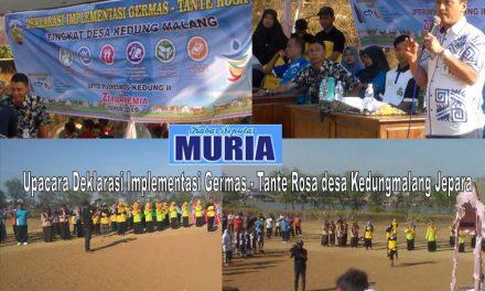 Deklarasi Implementasi Germas – Tante Rosa Di desa Kedungmalang Jepara