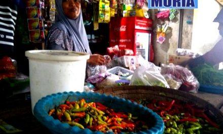 Harga Cabai di Pasar Tradisional Meroket , Penjualan Turun Separuhnya