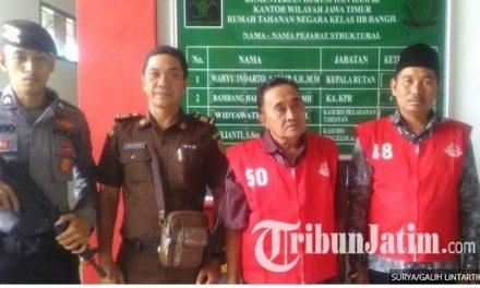 Kasus Mark Up Dana Desa di Pasuruan, Kades dan Kaur Dompo Dituntut Pidana 4,5 Tahun