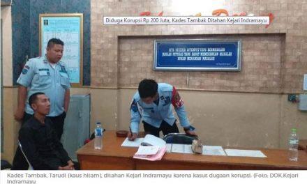 Diduga Korupsi Rp 200 Juta, Kades Tambak Ditahan Kejari Indramayu