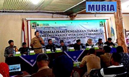 Pembangunan Fly Over Ganefo Warga Desa Kembangarum Dan Mranggen Dapat Sosialisasi