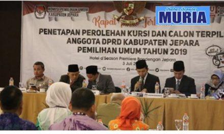 KPU Jepara Tetapkan 50 Calon Anggota Dewan , PPP Jumlah Terbanyak 11