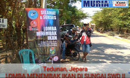 Lomba Menembak Ikan di Sungai SWD II Tedunan Jepara Seru!!!!