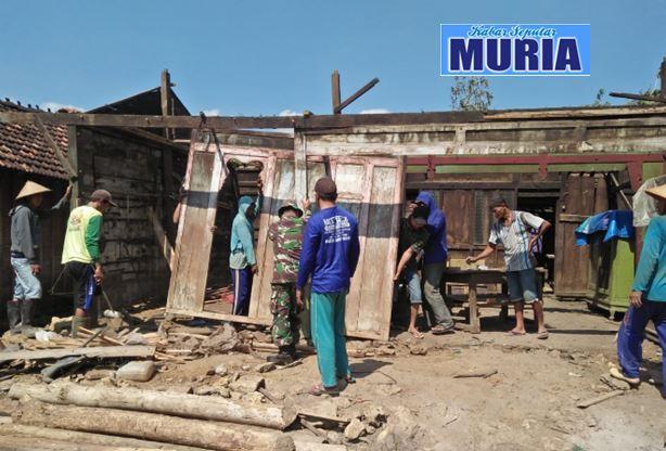 Program RTLH Sasar Rumah Surahman di Dukuh Kemisik Desa Wateshaji Pati