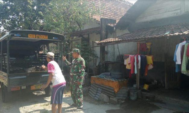 "Kades Kalikondang : ""Terimakasih Sejumlah RTLH Warga Saya Sudah Mulai Dibangun TNI"""