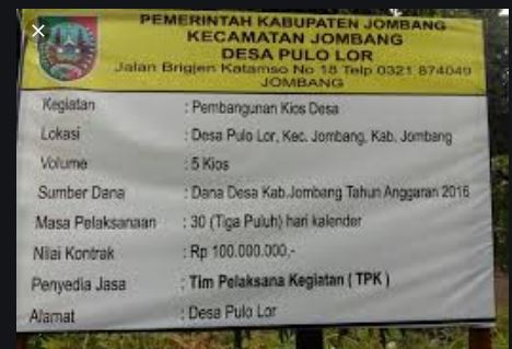 Transparansi Dana Desa, DPMD Kaur Ingatkan Kades, Dengan Memasang Papan Informasi Setiap Pekerjaan Proyek