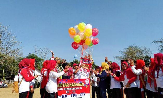 PKG PAUD Jekulo Gelar Karnaval Kemerdekaan