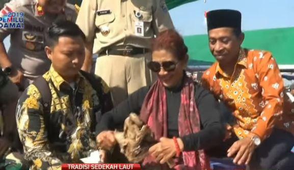 Menteri Susi  Dan Tradisi Sedekah Laut  di Demak Yang  Masih Dilestarikan Warga Desa