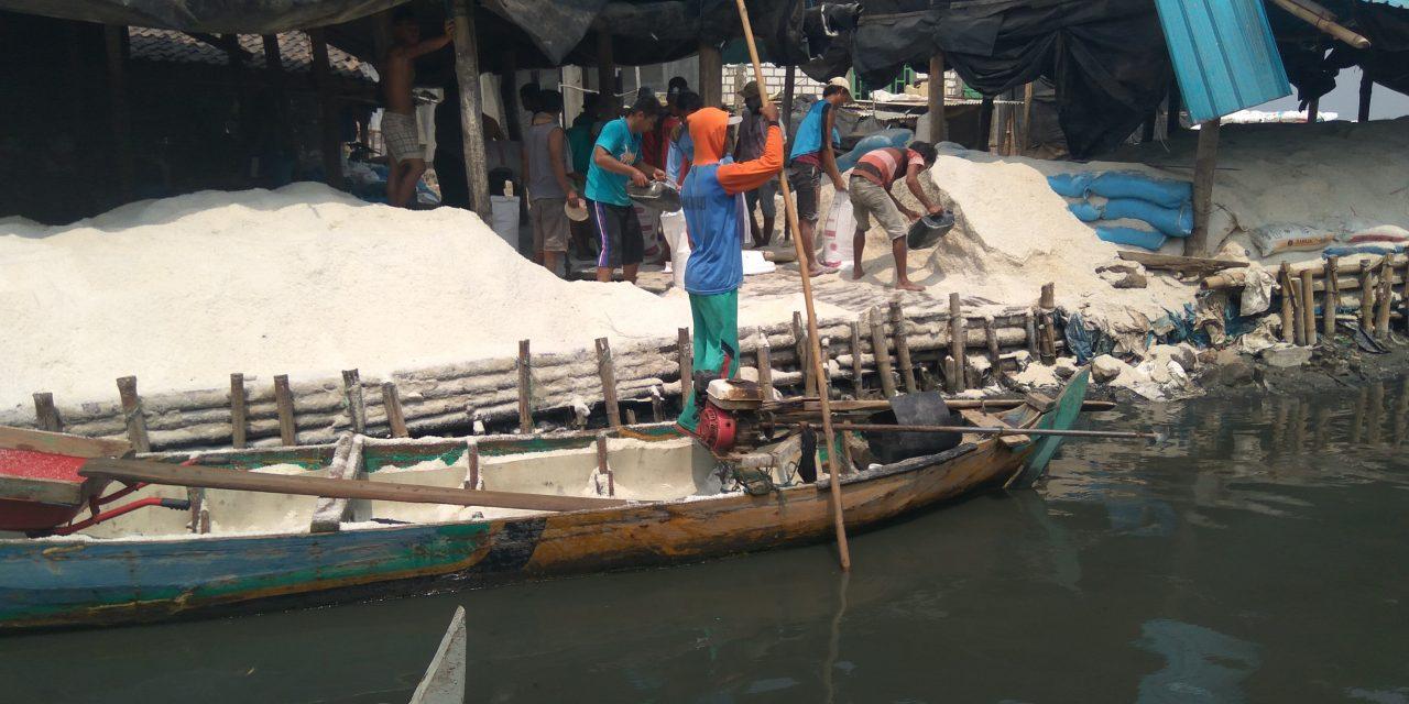 Pangkalan Garam Desa Kendalasem Butuh Pembangunan Talud dan Pengerukan Sungai