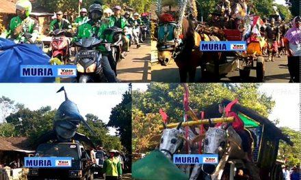 Karnaval Haul Syeh Jondang Jepara Meriah , Penuh Persatuan dan Kesatuan