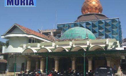 """Masjid Besar """"Walisongo"""" Pecangaan Jepara di Renovasi , Lebih Luas dan Ada Menara"""