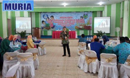Disdikpora Jepara Selenggarakan Sosialisasi Penyelenggaraan Pendidikan Keluarga