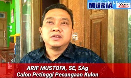 Arif Mustofa,SE,SAg Calon Petinggi Pecangaan Kulon Ingin Desanya Lebih Transparan dan Sejahtera