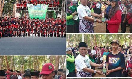 Ponpes Balekambang  Juara Umum Kemah HSN 2019, Borong 20 Tropi