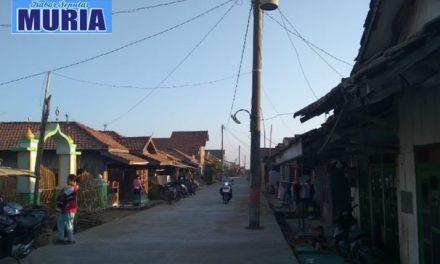 Betonisasi Jalan Raya Babalan Selesai, Wedung – Jepara Lancar Jaya