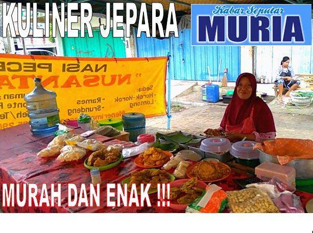 "Warung  Nasi Pecel ""Nusantara"" Bu Kusniyati Jepara,  Mur-Mer dan Wenak Rasanya"