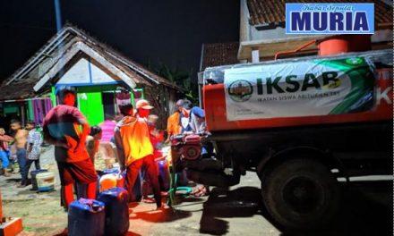 IKSAB TBS 18, Droping Air Bagi Warga Kekeringan Air Bersih