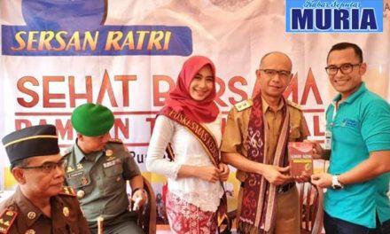 SERSAN RATRI Program Inovasi UPTD Puskesmas Kedung 1 Stand Terbaik Pilihan PLT Bupati Jepara