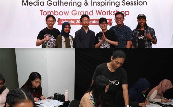 Mengembangkan Kreativitas Bersama Seniman Gambar Profesional di Tombow Grand Workshop