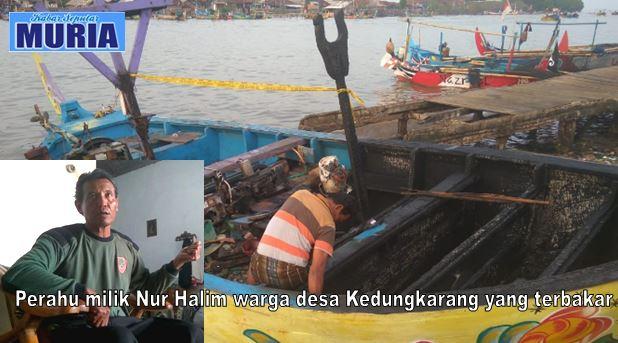 "Kasihan,  Perahu Nur Halim Yang  "" Terbakar "" Belum Lunas Kreditnya"