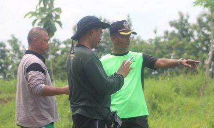Kasdim Pati Tinjau Kesiapan Lahan Untuk Hijaukan Lapangan Tembak Sirwendo