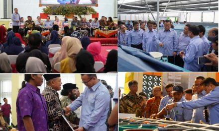 Menteri Kelautan dan Perikanan Edhy Prabowo kunjungi Balai Besar Perikanan Budidaya Air Payau (BBPBAP) Jepara