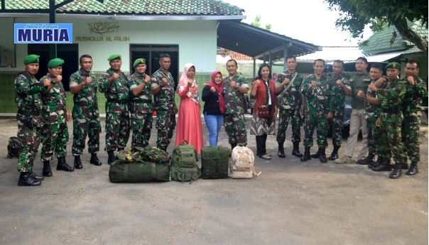 Demi Tugas Negara Ke Papua, Empat  Babinsa Ini Tinggalkan Keluarga