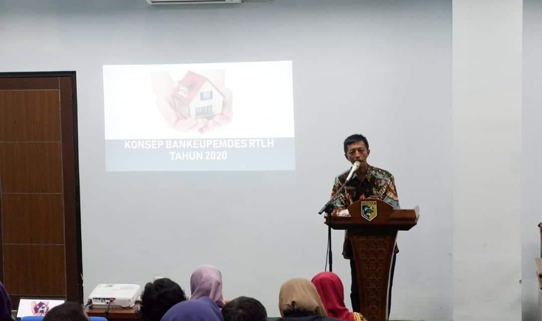 Dinperkim Demak Sosialisasikan Mekanisme Penyelenggaraan RTLH bersumber dari dana BANKEUPEMDES Provinsi Jawa Tengah