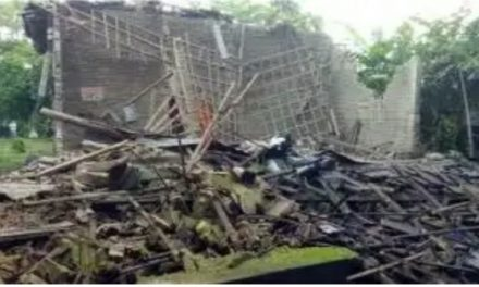 Diguyur Hujan, Rumah Warga  desa Raguklampitan Roboh