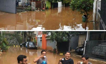 Ini kata Netizen Bekasi  Tentang Banjir di Daerahnya