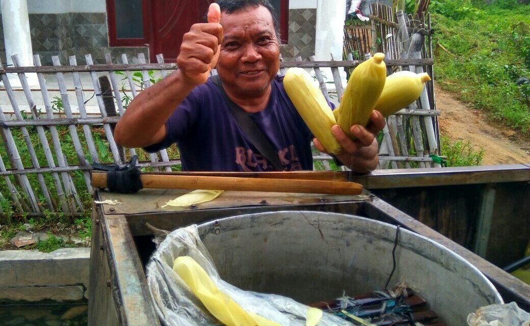 Kisah Bang Antok Warga Bakalan, Dulu Sopir kini Jualan Jagung Keliling
