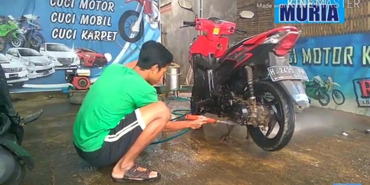 """Mampir ke Cucian Motor """" Nahar Kenthung"""" Kedungmutih Demak"""