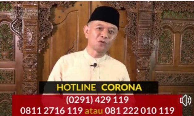 Pemkab Jepara Buka Hot Line COVID 19