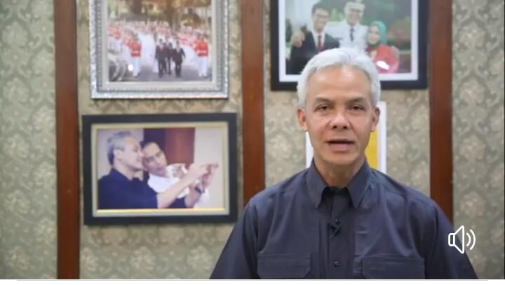 Himbauan Pak Ganjar Untuk Tidak Mudik,  Karena Cegah Keluarga di Kampung  dari Virus Corona