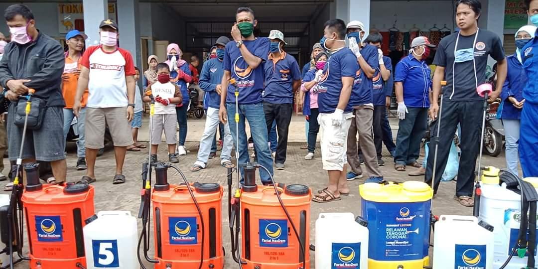 Partai Nasdem Jepara Berdayakan Kader Untuk Cegah Penyebaran Covid-19 di Semua Desa