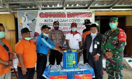 PC LAZISNU Jepara Donasikan Sprayer Untuk  Penyemprotan Disinfektan dan Masker