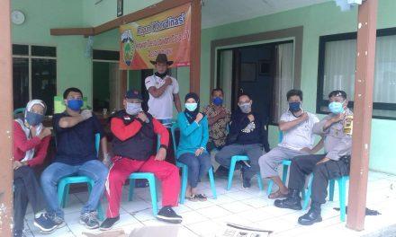 Pemdes  Lebuawu Jepara Kerahkan Relawan Untuk Cegah Covid 19