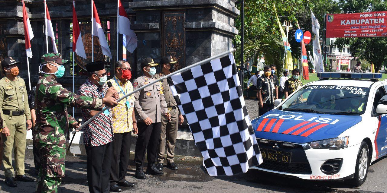 Sinergitas TNI Bersama Pemerintah Demak Berjuang Lawan COVID-19
