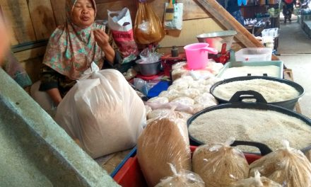 Harga Beras Di Pasar Tradisional Masih Stabil di kisaran Rp 10 – 11 Ribu Perkilogram